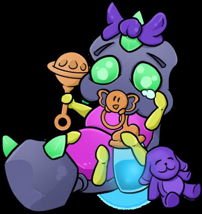 Stahlkriecher Baby