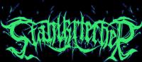 Stahlkriecher Schriftzug Grün