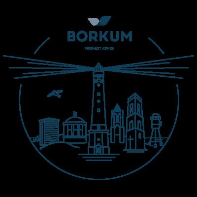 Skyline Borkum (rund)