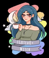 LGBTeaQ Witch