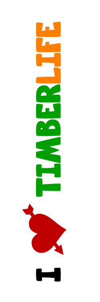 I love TimberLife - vertikal