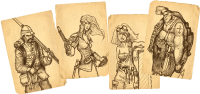 Robinson Crusoe - Karten