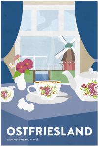 Vintage Tee Mühle