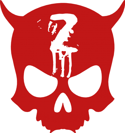 Official ZAX73 Skull RED