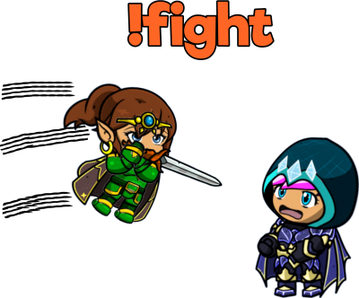 Fantasy Fight LIVE (!fight)