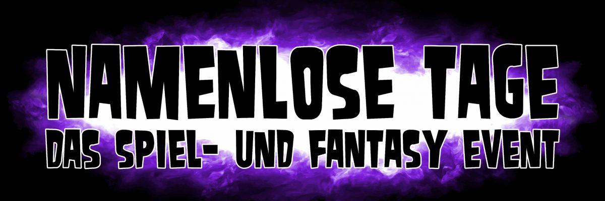 Namenlose Tage Shop - Die Namenlosen Tage sind ein, seit 2006, 2x im Jahr stattfindendes Spiel- und Fantasy Event in Syke bei Bremen, auf dem sich Rollenspieler aus ganz Deutschland treffen. Des weiteren bieten wir Gesellschafts-, Brett- und Kartenspielmöglichkeiten.  An insgesamt knapp 60 Tischen kann sowohl der Neueinsteiger, als auch der Experte seinen Interessen an Spielen aller Art freien Lauf lassen.  Als eine der wenigen Spiel- und Fantasy Conventions in Deutschland wachsen die Namenlosen Tage immer weiter. Im letzten Jahr konnten wir insgesamt mehr als 800 Gäste auf den Namenlosen Tagen begrüßen.