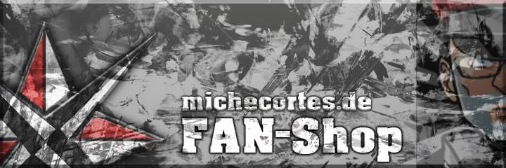 """Miche Cortes - Herzlich willkommen beim Fanshop von Miche Cortes. Hier kannst Du nicht nur tolle Fanartikel erstehen, sondern mich auch noch direkt und unkompliziert außerhalb der """"Spendenfunktion"""" unterstützen! Bei Fragen und Anregungen kannst Du Dich gerne auch an shop@michecortes.dewenden."""