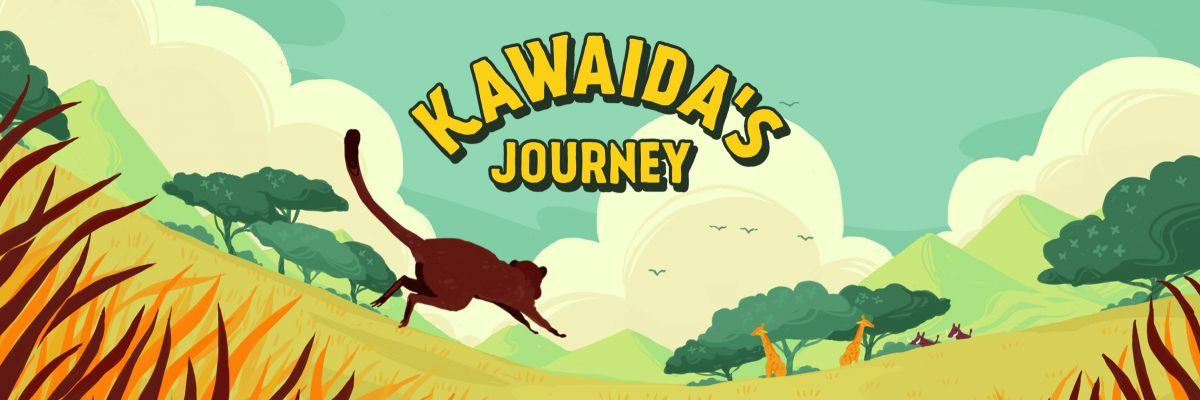 "Kawaida's Journey Fan-Shop - Habari! We're happy that you've found your way to the official ""Kawaidas Journey"" Fan-Shop. Take a look around and browse, you'll find some products imprinted with our unique art work. Maybe you already know what you are looking for! Have you got any feedback or suggestions in regards to the game, product-range or the shop? We're really looking forward to hear from you! Visit us on Facebook, Twitter, Instagram or on our Homepage www.kawaidasjourney.de.