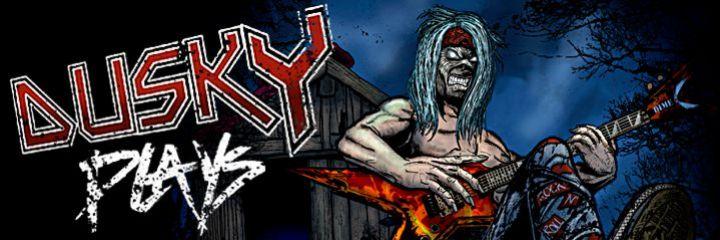 Duskys Rockshop - Mit Duskys Merch wirst du zu einem richtigen Rocker! m/
