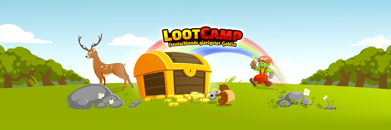 Lootcamp - Vorsicht, bissig! Jetzt gibt es unser gieriges Maskottchen auch zum Mitnehmen! Wenn du nicht nur im Internet gerne Loot für dich beanspruchst, zeige es mit unseren neuen Shirts!
