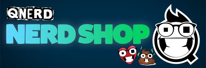 NERD SHOP von Qnerd - NERD SHOP - Moin ihr Nerds, ich bin Qnerd! Medienfutzi, Radiomacher und leidenschaftlicher Zocker. Hier gibt es Merchandise für meine großartige Twitch-Community und meinen YouTube-Kanal!