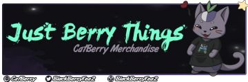 CatBerry's Merch