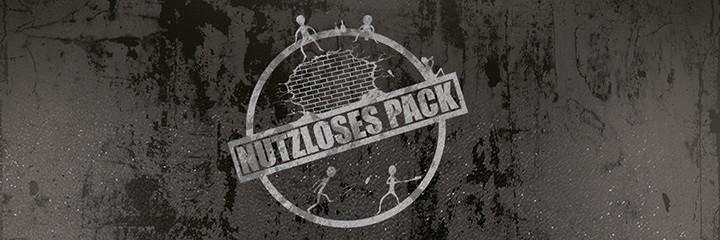 Nutzloses Pack Shop - Das Independent Musikabel Nutzloses Pack aus Gießen in Hessen wurde 2016 gegründet. Neben der Musik vertreibt das Label Merchandise der unter Vertrag stehenden Künstler.