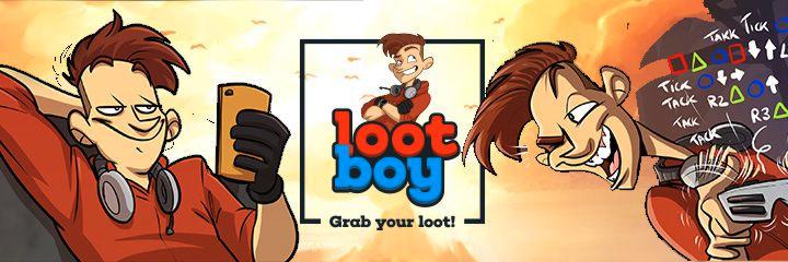 LootBoy Merchandise Shop - Hier bekommst du Beutestücke rund um LootBoy, die Smartphone-App für Gamer! Schnapp dir jetzt Tassen, T-Shirts und anderen Swag und zeig allen, dass DU nur den coolsten Loot verdienst!