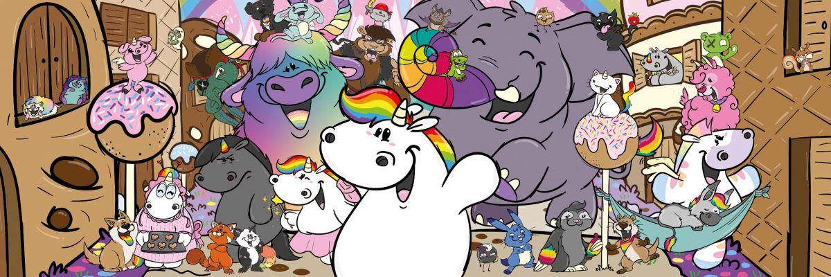 Pummel & Friends - Willkommen in der Glitzerwelt von Pummeleinhorn und seinen Freunden!