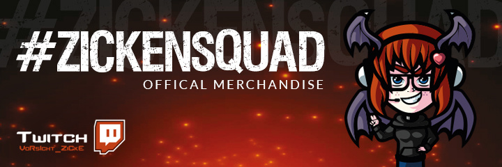 Zickensquad official Merchandise