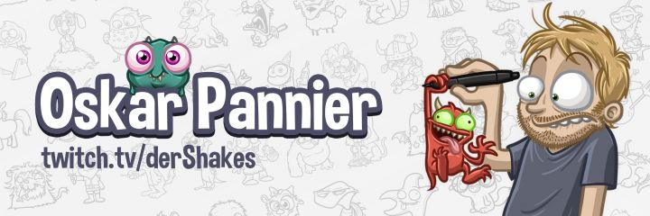 Oskar Panniers Monster-Merch