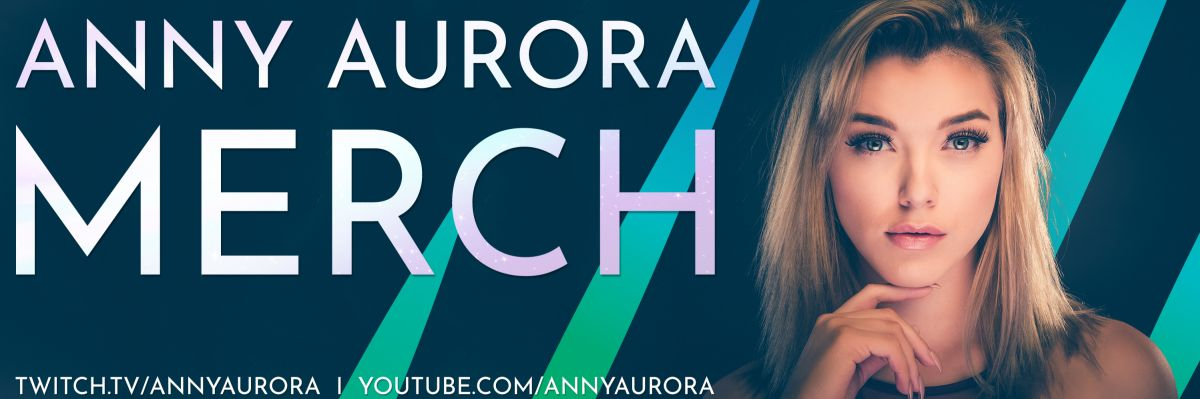 Anny Aurora Official Merchandising - Der offizielle Anny Aurora Merch Shop - egal ob abgehoben, bodenständig oder einfach nur ein Farbenfreund der Polarlichter, hier wirst du mit Sicherheit fündig!