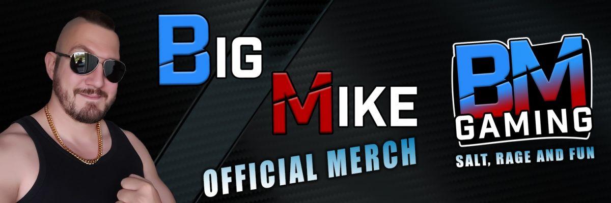 Hier der offizielle Merch von Big Mike - Ihr wollt die derbsten Sachen, in der geilsten Qualität? Dazu noch von Big Mike? Dann seid Ihr hier genau richtig! Schaut Euch um und genießt das Angebot!