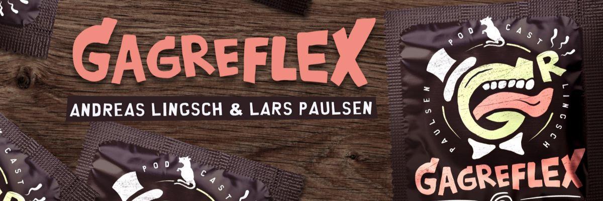 Die offizielle Merch-Seite vom Gagreflex Podcast  -
