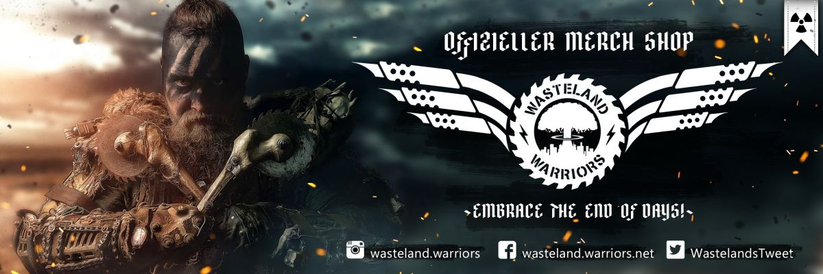 Wasteland Warriors - Wasteland Warriors Merch Shop - Embrace the End of Days!