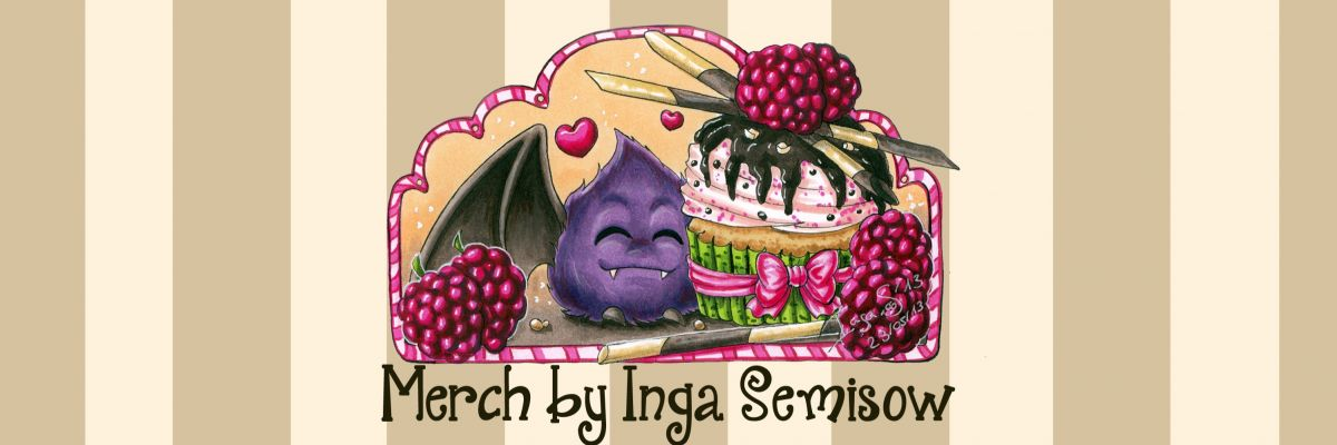 Official Merch by Inga Semisow -