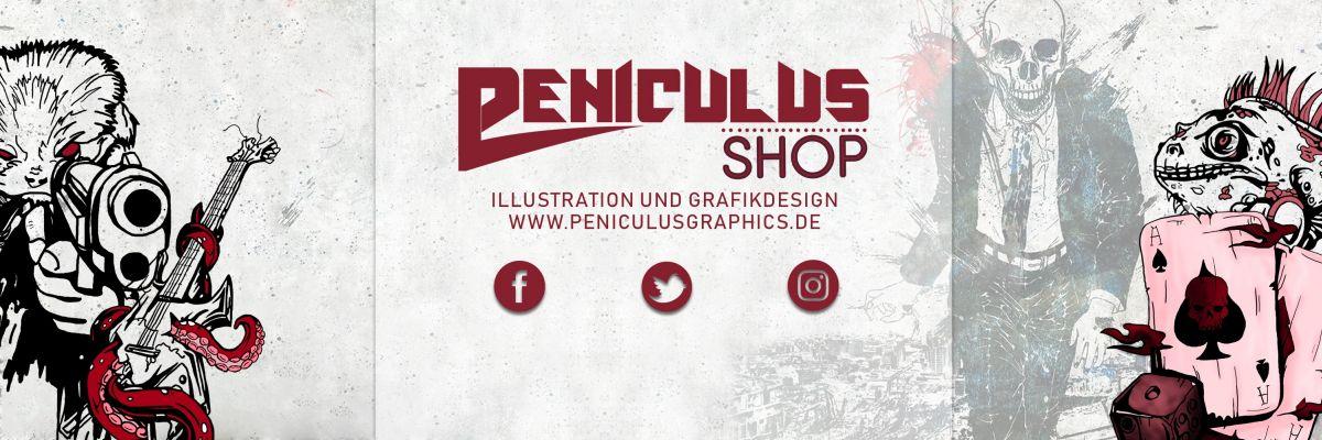 Official Merch von PeniculusGraphics - Wir bieten hier unsere eigenen Grafiken an - alles Handmade, von der Zeichnung bis hin zur Digitalisierung.