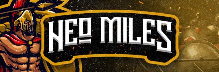 Official Merch von NeoMiles - Du bist ein wahrer Miles aber du hast noch nicht das nötige Gear um in die Schlacht zu ziehen? Bei unserem Schmied kannst du dir die Ausrüstung für jede Schlacht kaufen!