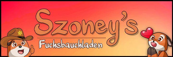 Offizieller Merchandise von Szoney!