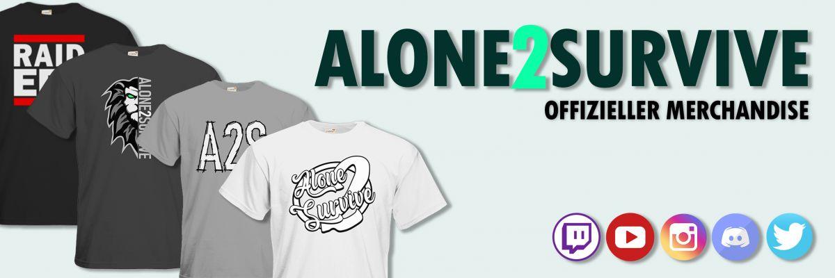Offizieller Merchandise von Alone2Survive