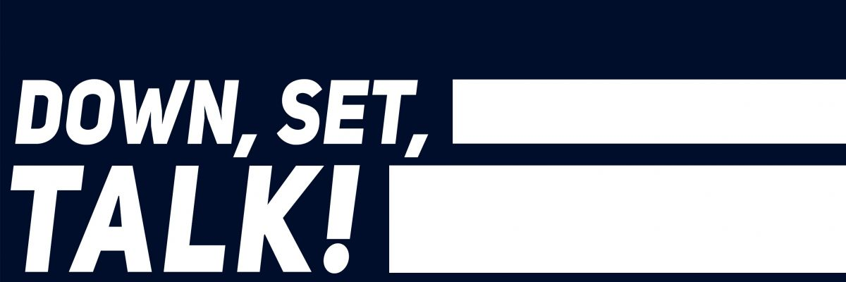 """Down, Set, Talk! - Shop - Willkommen im Merch-Shop vom Football-Podcast """"Down, Set, Talk!"""""""
