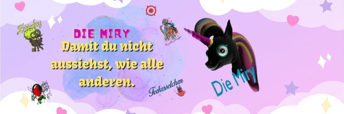 Mirys Merchandise - Hey schön das Ihr hier her gefunden habt. Ich habe den Shop eröffnet da einige gefragt haben zudem, möchte ich wie mich viele auch schon kennen durch meine Twitch streams die Einnahmen Spenden an DKMS und der Deutschen Kinderkrebshilfe. Vielleicht ist ja was für euch dabei. Viel Spaß beim Stöbern