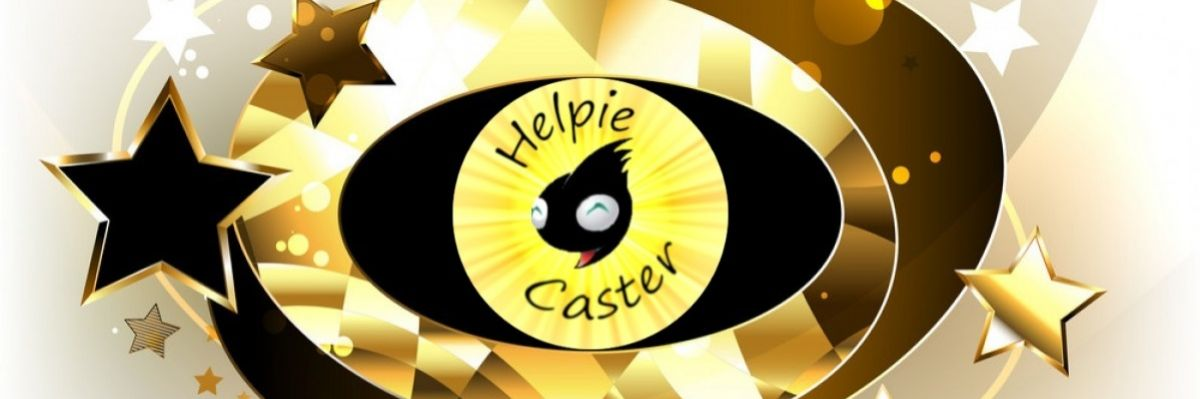 Official Merch of the Helpie-Caster Project  -