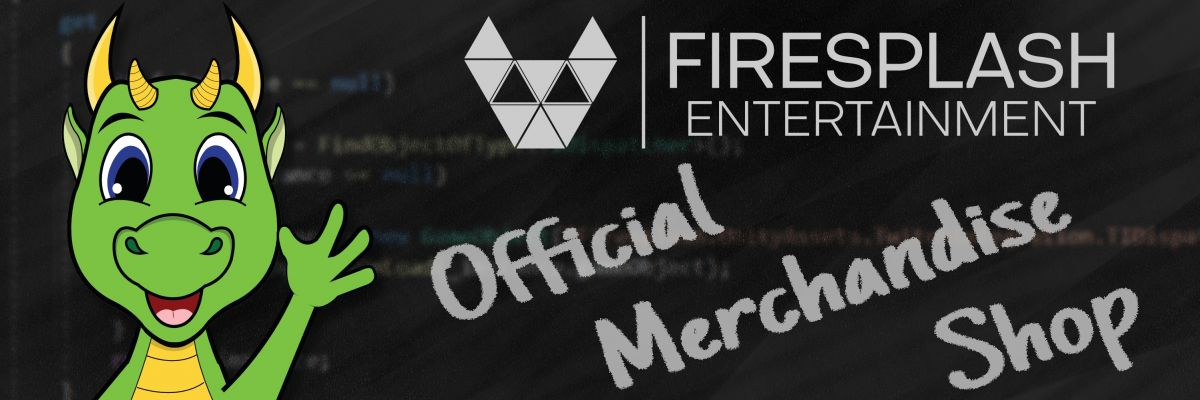 Offizieller Firesplash Entertainment Merchandise - Hier gibts den offiziellen Merch von Firesplash Entertainment