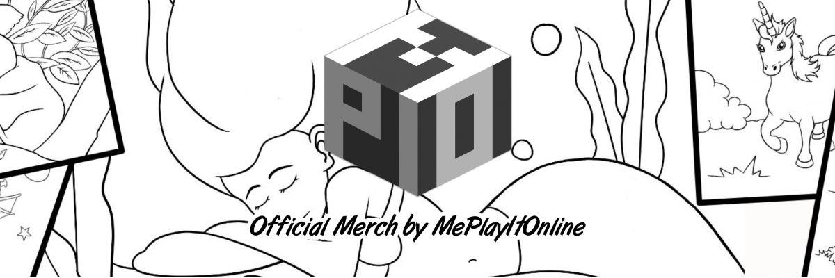 Official Merch by MePlayItOnline - In meinem Shop findest du verschiedene Produkte in meinem Stream auf Twitch entstanden sind. Es handelt sich in der Regel um Zombie-, Drachen und andere  Fantasy-Motive,