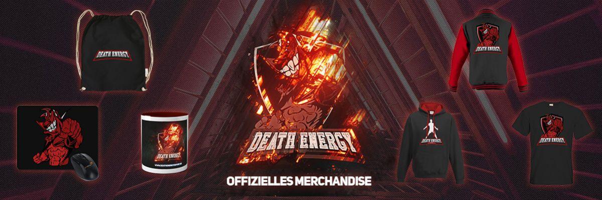 offizieller eSports Merch von DeathEnergy - DeathEnergy ist ein Multigaming Clan seit 2009. Hier gibt es unseren Merch für euch.