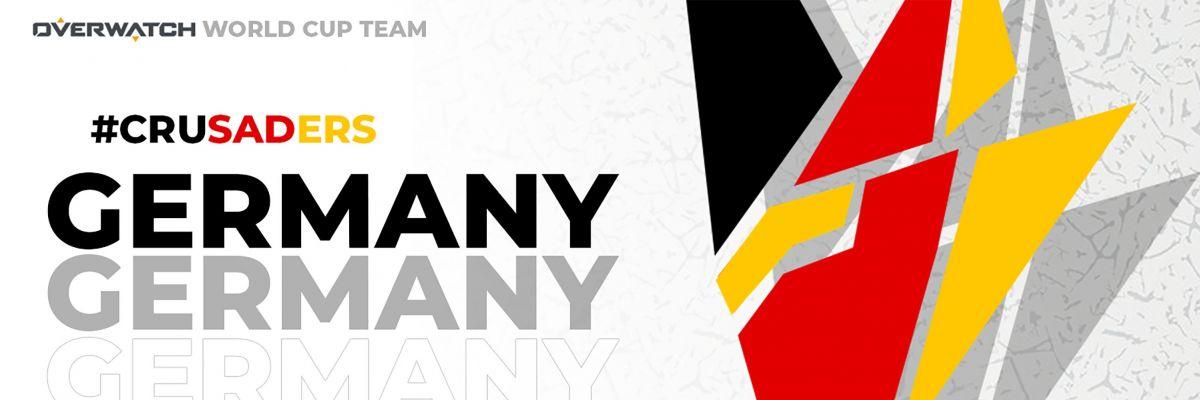 Official Merch von Overwatch Team Germany.