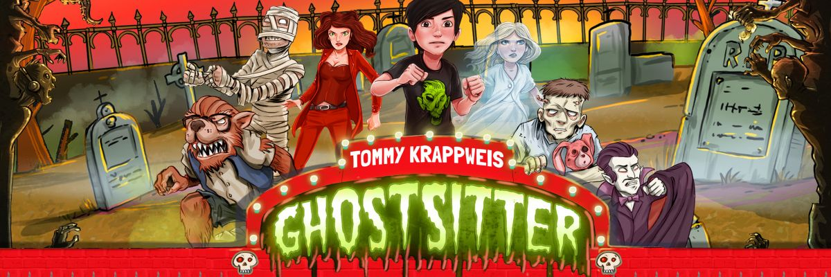 Ghostsitter - Merchandise Shop - © Tommy Krappweis