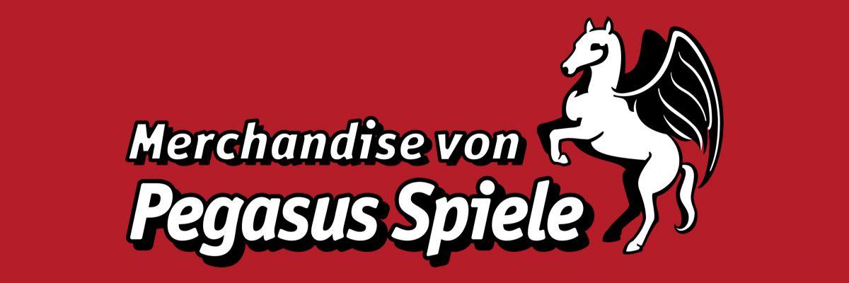 Merchandise von Pegasus Spiele - Willkommen im offiziellen Merchstore von Pegasusw Spiele.  Hier findest du denn Stoff um dich mit deinen Lieblingsspielen zu identifizieren. Viel Spaß und game on!