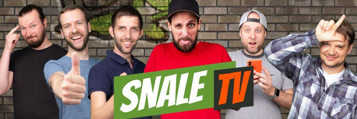 Offizieller Stuff von snaleTV - Schnecken sind stolze Tiere und zeigen das auch... mit dem offiziellen Merch von snaleTV. Damit seht ihr nicht nur gut aus, sondern unterstützt uns auch noch auf unserem Weg zur Schneckenherrschaft!