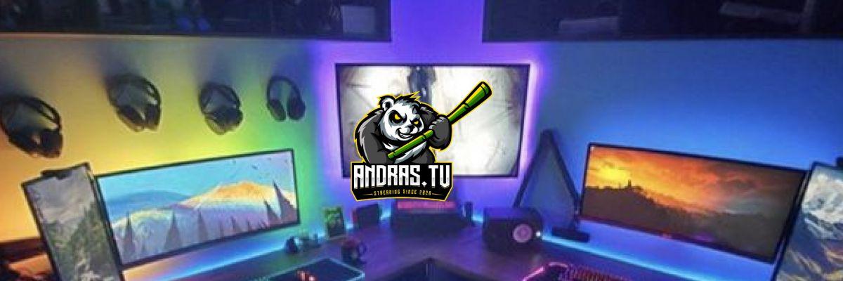 Offical Panda Merch von Andras.tv -