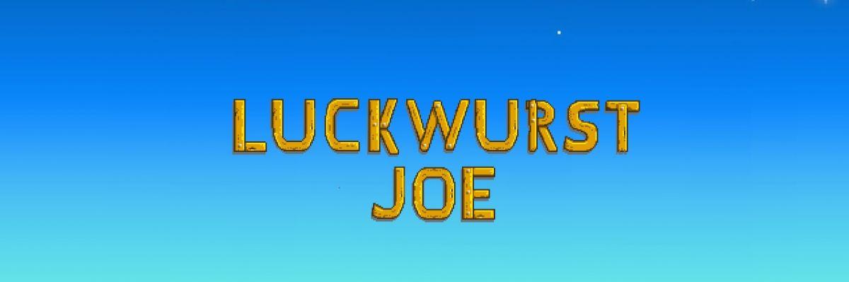 Merch des Streamers LuckwurstJoe