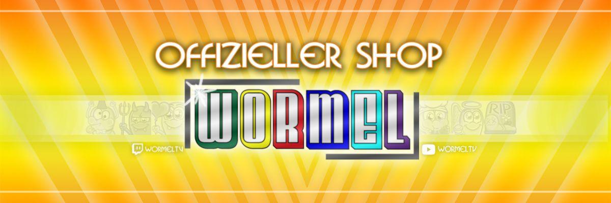 Offizieller Merch von WormelTV - Moin Leute, hier bekommt ihr den Offiziellen Merch von WormelTV. Ihr wollt die Klamotten auch endlich mal auf der eigenen Haut tragen? Dann habt ihr jetzt die Chance dazu. Viel Spaß beim stöbern, wir sehen uns im nächsten Stream auf www.twitch.tv/wormeltv