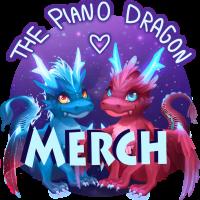 Dragoni Merch von ThePianoDragon – Offizieller Merch von ThePianoDragon