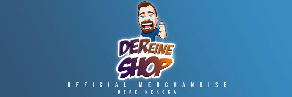 """Der offizielle Shop von DerEineKoka - Hier gibt es das offizielle Merchandise von """"DerEineKoka""""."""