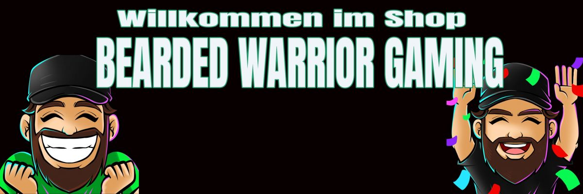 Hier ist der Merchandise Shop von Bearded Warrior
