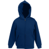Kids Zip Through Hooded Sweat Jacket